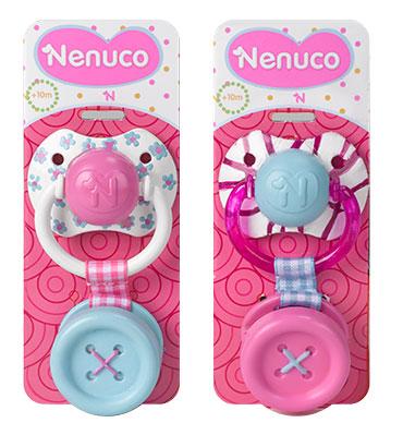 NENUCO 2 Tétines Avec Clip  Achat / Vente accessoire poupon  Cdiscount