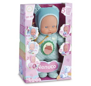 Nenuco soft 5 fonctions 30 cm