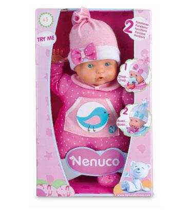 Nenuco soft 2 fonctions 30 cm