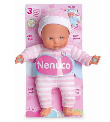 Nenuco soft 3 fonctions 25 cm