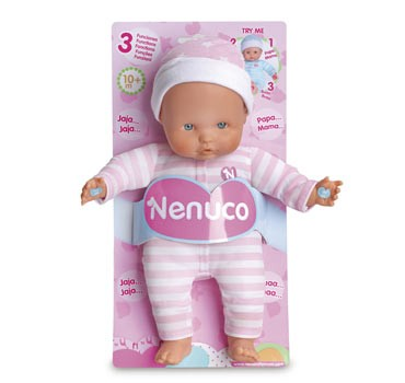 Nenuco soft 3 funzioni 25 cm