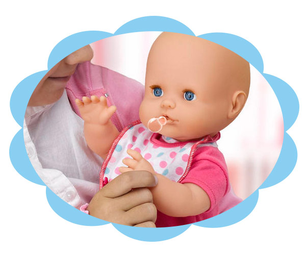 Nenuco neonata fa le bolle