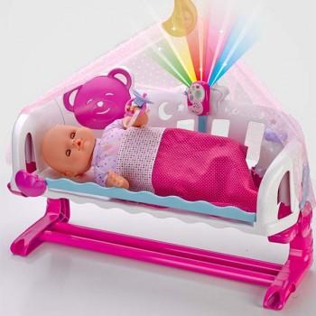Berço Dorme Comigo com Baby Monitor