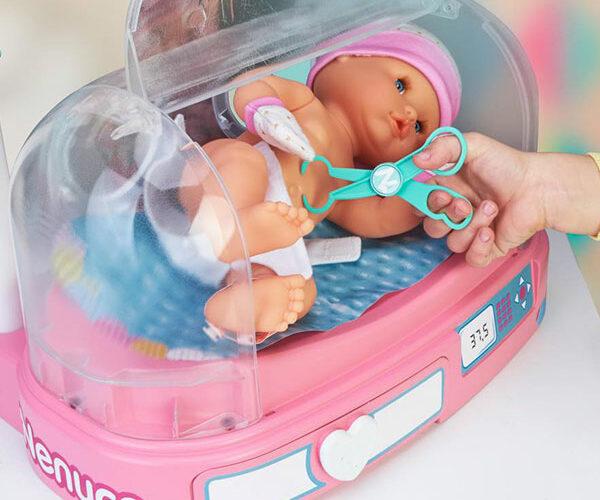 Doutora, como está o meu bebé?