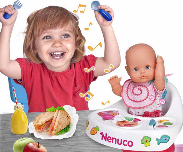 Nenuco Highchair Eat With Me