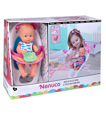 Nenuco starter set for little mommies