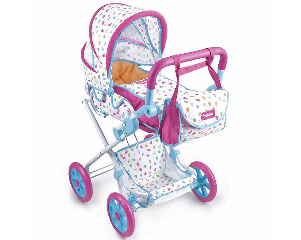 Nenuco cochecito de paseo con bolso juguetes nenuco for Coches con silla para carro