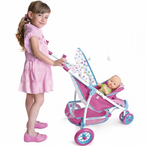 Nenuco Silla con portabebé de coche