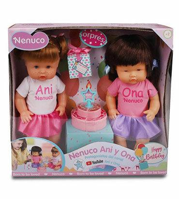 Nenuco Ani y Ona Feliz Cumpleaños